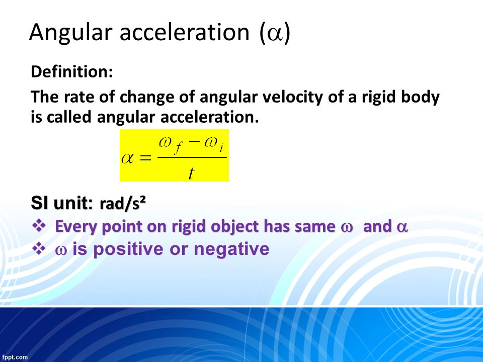 How To Change Rpm To Rad S >> Chapter 4 Rotational Motion - ppt video online download