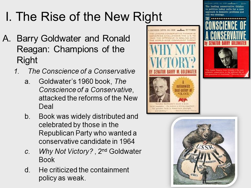 rise of conservatism after 1970 was Chapter 41: the resurgence of conservatism, 1980-2000 share tweet post message next chapter the election of ronald reagan, 1980 chapter 13: the rise of a mass democracy, 1824-1840 chapter 14: forging the national economy, 1790-1860.