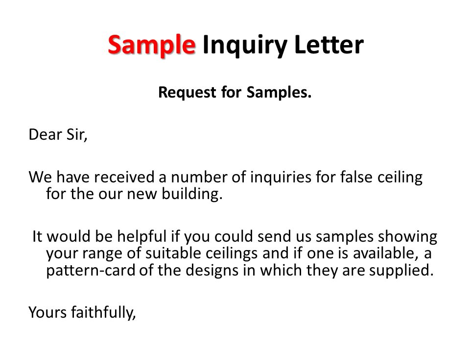 Request letters ppt download sample inquiry letter expocarfo