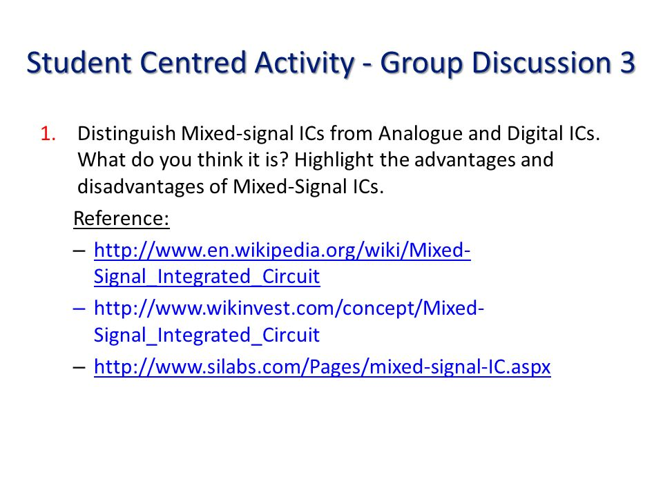 group discussion on advantages and disadvantage of internet Spotlight on focus groups  advantages and disadvantages as can be inferred from the above description, the focus group format has several advantages: it is relatively inexpensive  the quality of the discussion depends on the skill of the moderator, who should be well trained and preferably from the target population, yet not affiliated.