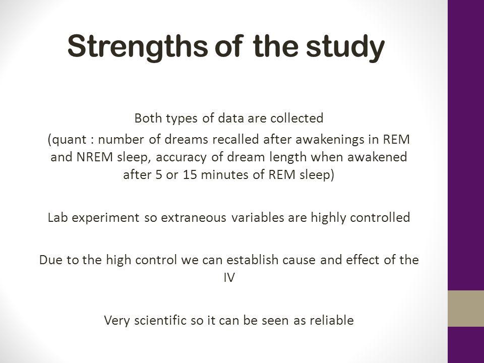 Nrem sleep ap psychology study