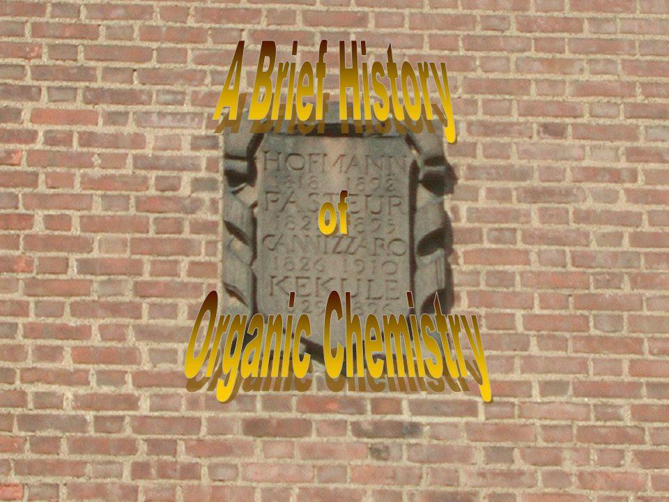 history of organic chemistry pdf
