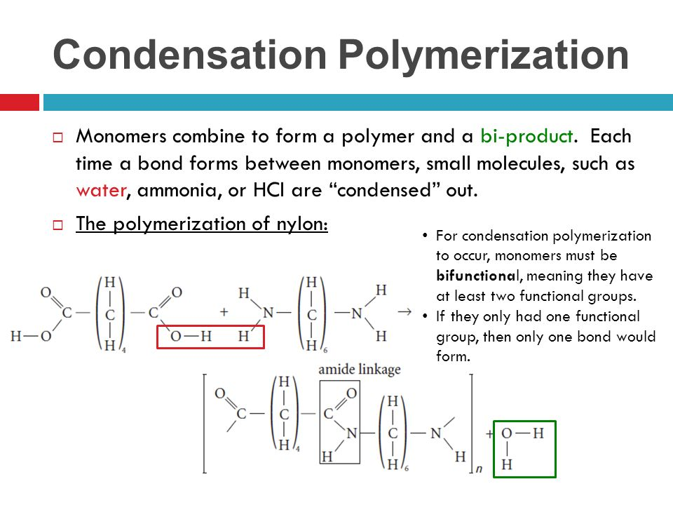 Polymerization Reactions - ppt video online download