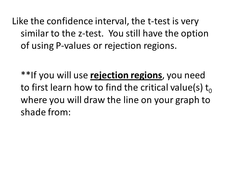 how to find t value for confidence interval