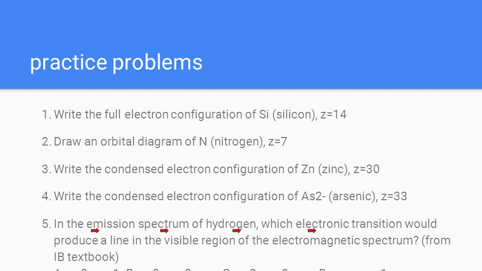 Dda Line Drawing Algorithm Problems : Electron configuration ppt download
