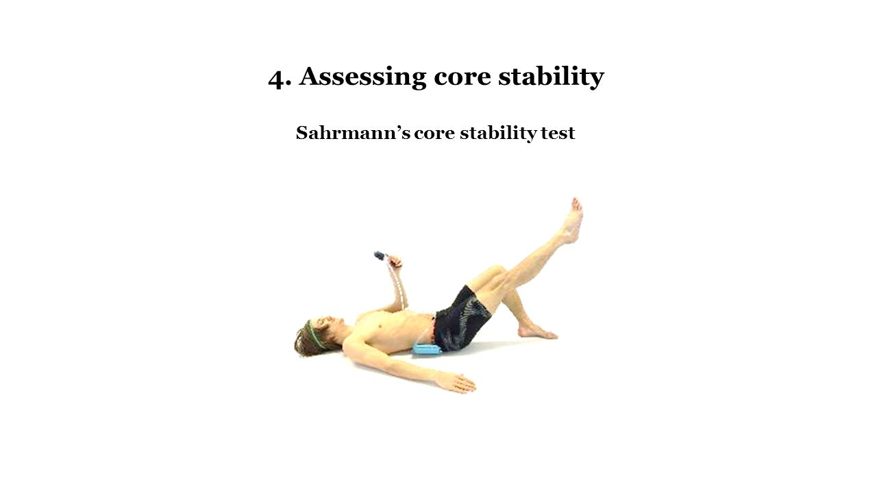 stabilizer pressure biofeedback instructions