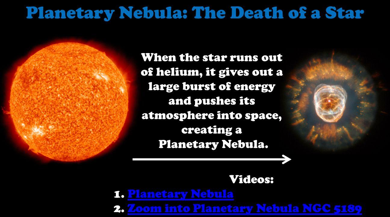 black dwarf planetary nebula - photo #39
