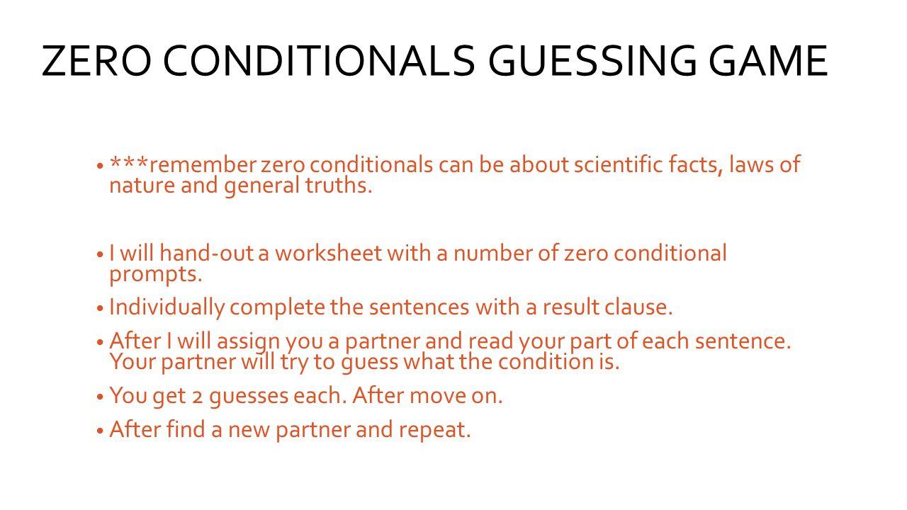 Conditional statements worksheet kuta