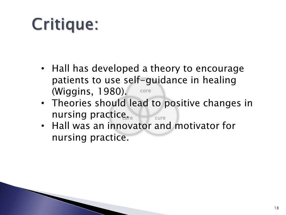 critique of a nursing theory Theory critique   meleis, a i (2007) theoretical nursing: development &  progress (4rd ed) philadelphia pa: lippincott(ch9)(pp186- 211).