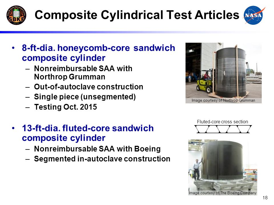 Composite Cylindrical Test Articles