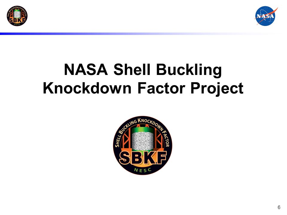 NASA Shell Buckling Knockdown Factor Project