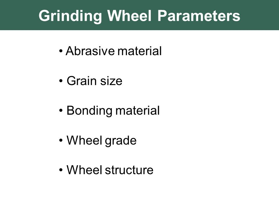 Grinding Wheel Types Ppt Grinding Machine Ppt Type 27