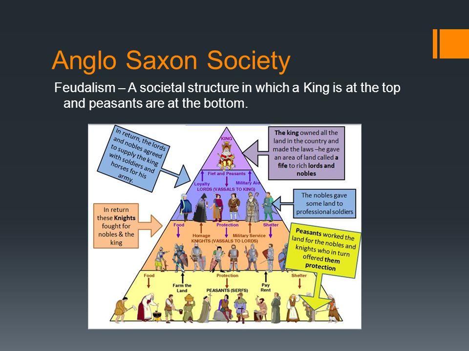 anglo saxon society essay