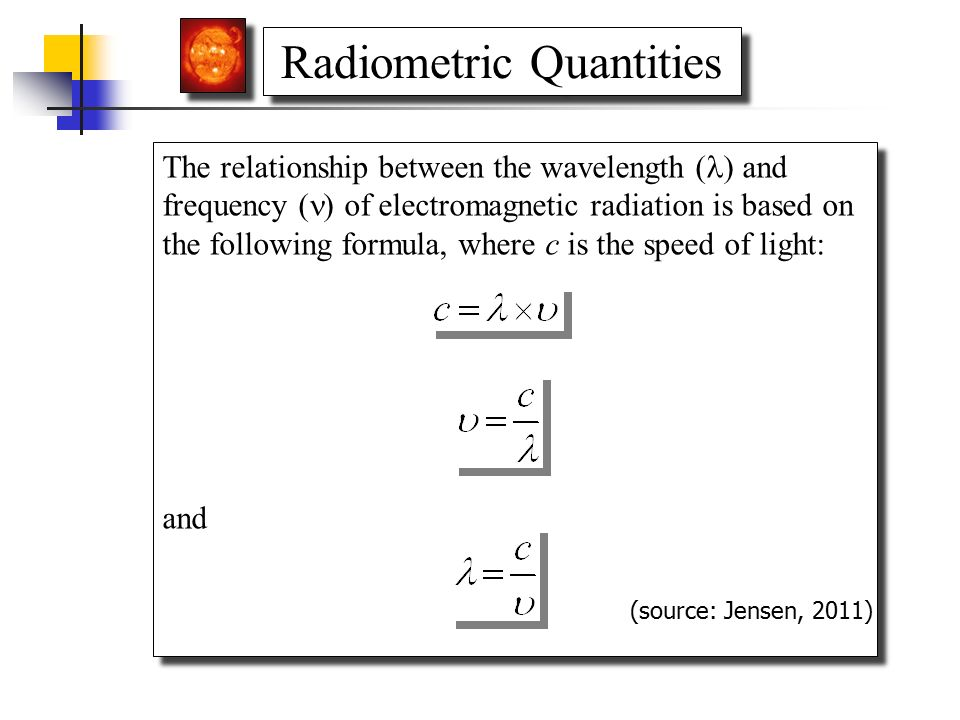 Electromagnetic Radiation Principles And Radiometric Correction Ppt Video Online Download