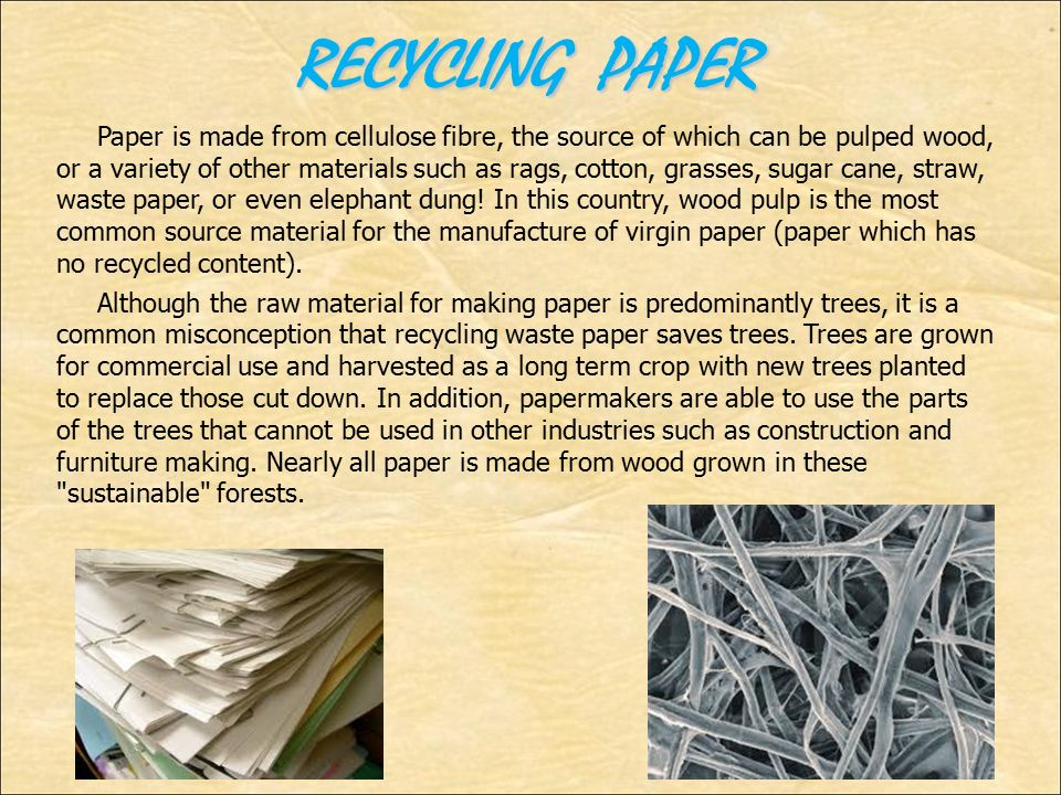 """recycled paper terms Recycled paper epa does not defined this term according to the federal trade commission's (ftc) guides for environmental marketing claims, a paper can be called """"recycled"""" only if it contains 100 percent postconsumer recovered fiber."""