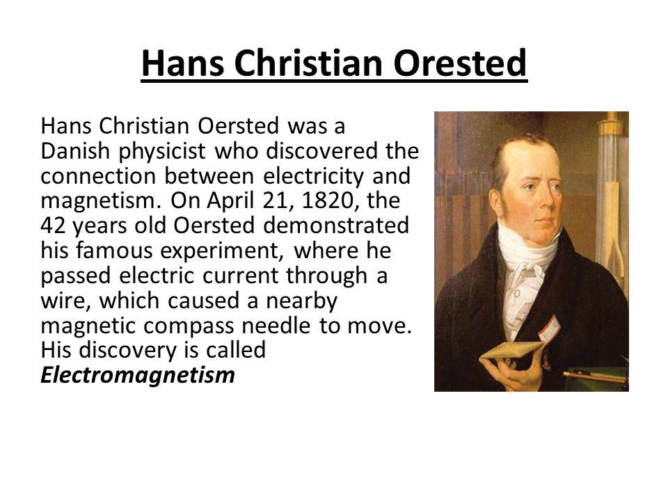 Hans Christian Orested