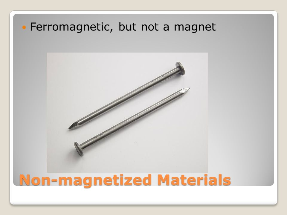 how to create a permanent magnet from a ferromagnetic material