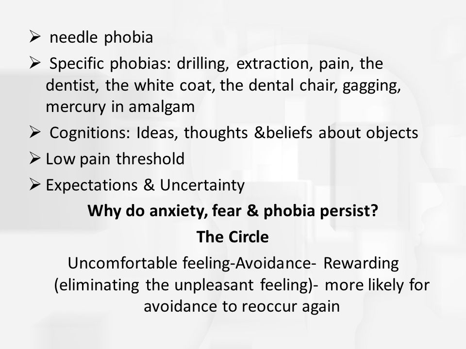 fears and phobias essay