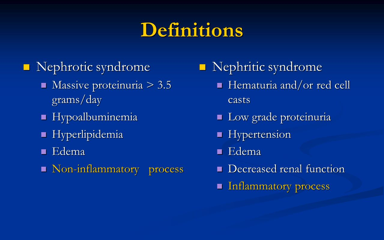 what is nephrotic syndrome pdf