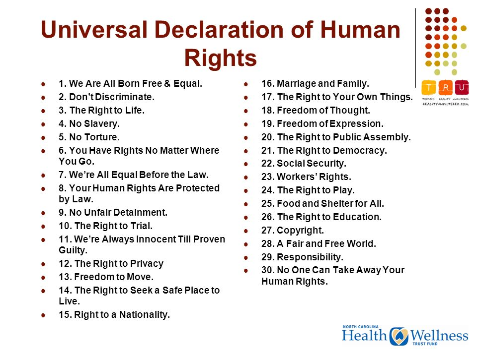 are there universal human rights