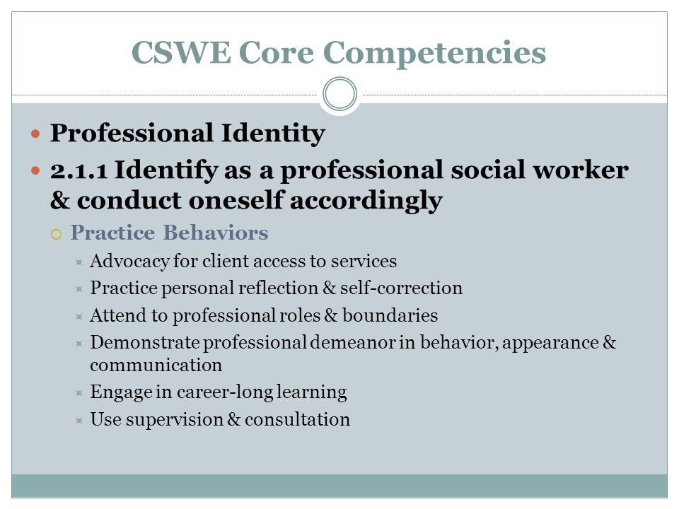 core competency of a social care The purpose of this resource is to provide support for teachers in assisting students to meaningfully self-assess the core competencies the three core competencies — communication, thinking, and personal and social — are the sets of intellectual, personal, and social and emotional proficiencies that all students need to develop in order to.