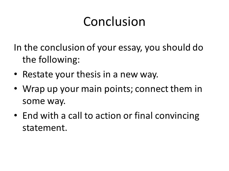 best way to restate your thesis Writing a position paper ___a restate your argument in other words, do not show up at your tas office hours expecting them to help you figure out your thesis statement and/or help organize your paper unless you have already done some research.