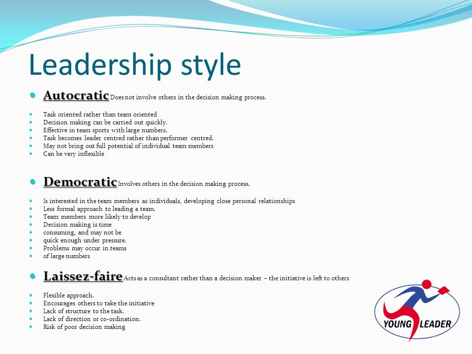 autocratic decision making Autocratic leadership by dr  • the leader holding so much power and decision-making  • organizations led by the autocratic leaders are slightly more.