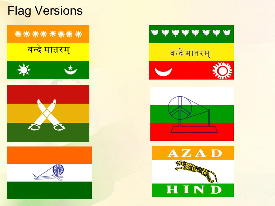 Flag Versions