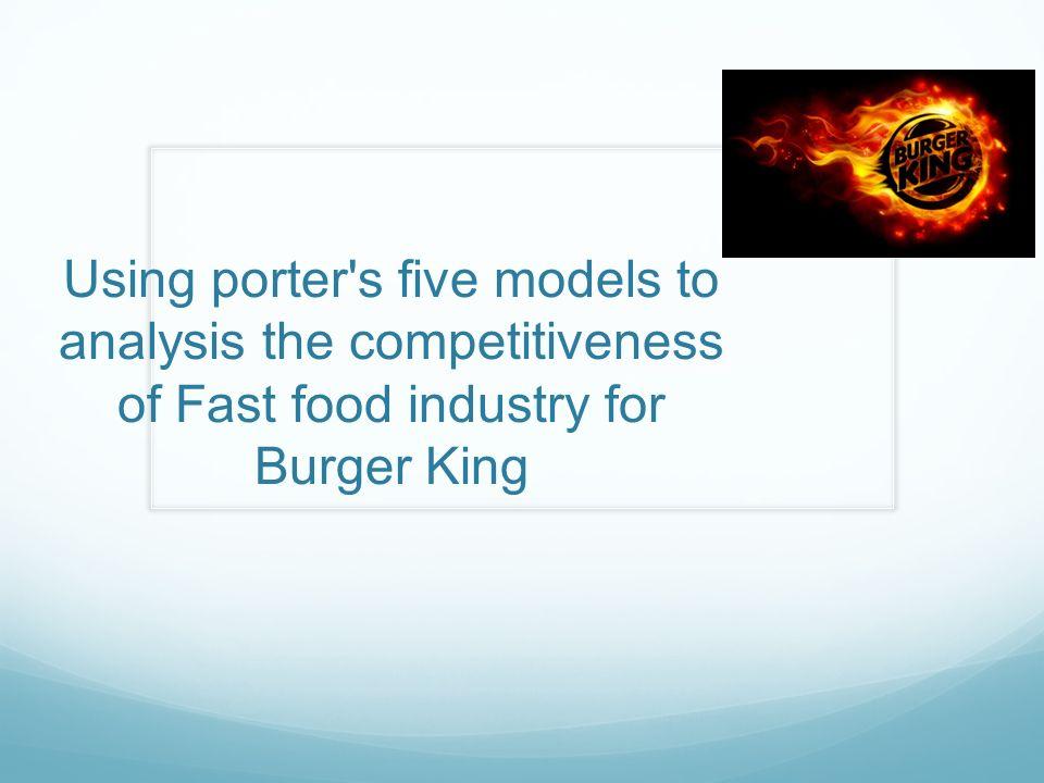 pestel analysis of burger king