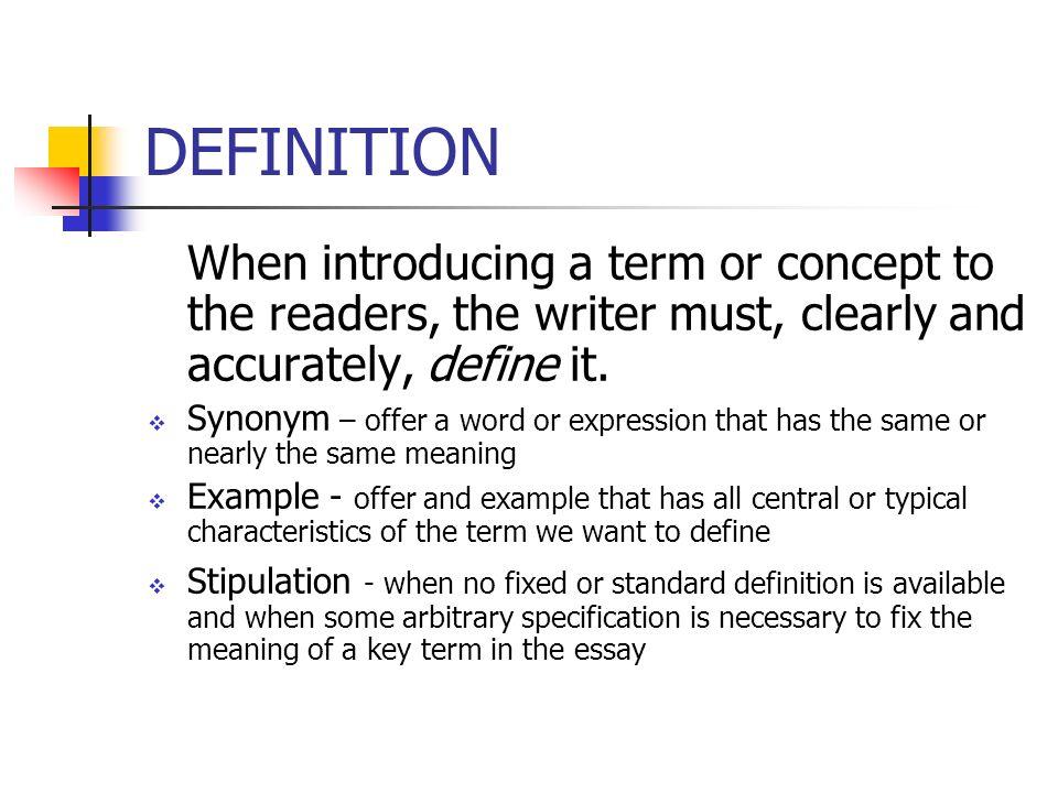 define rhetorical essay