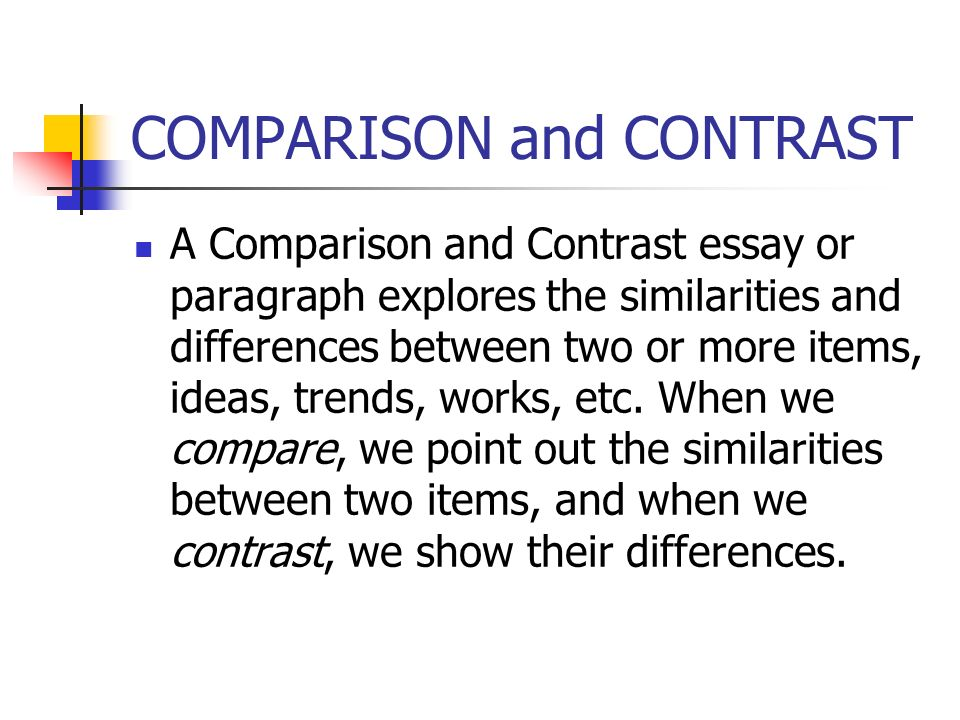 difference between paragraph and essays