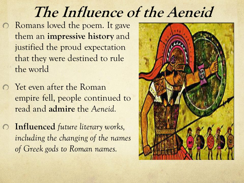 An analysis of the roman empire in an epic the aeneid by virgil