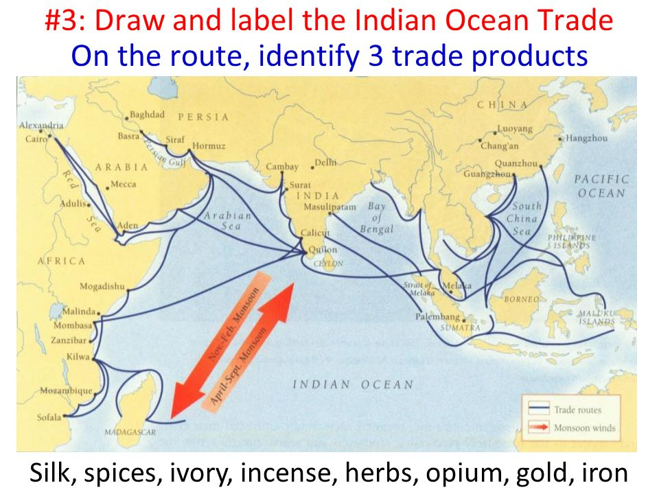 silk road and indian ocean trade essay Map of the silk road - route in red (later ocean routes in blue) why was the silk road important  trade from china along the silk road would reach its peak.