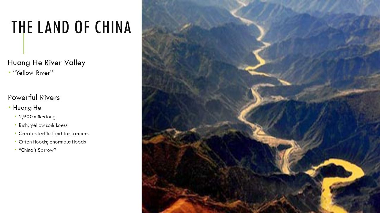 The land of china huang he river valley powerful rivers yellow the land of china huang he river valley powerful rivers yellow river sciox Images