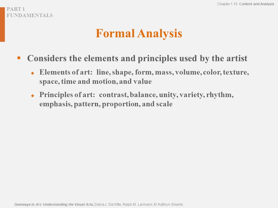 Formal Elements Line : Introduction the artist uses a visual language to