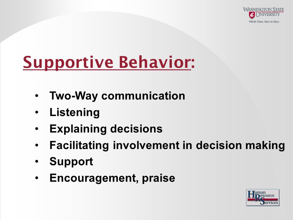 concepts of supportive communication and supportive listening Listening and information processing specific areas of interest are the component processes of active-empathic listening, listening as supportive communication, individual differences in listening styles and concepts, and measurement validation.