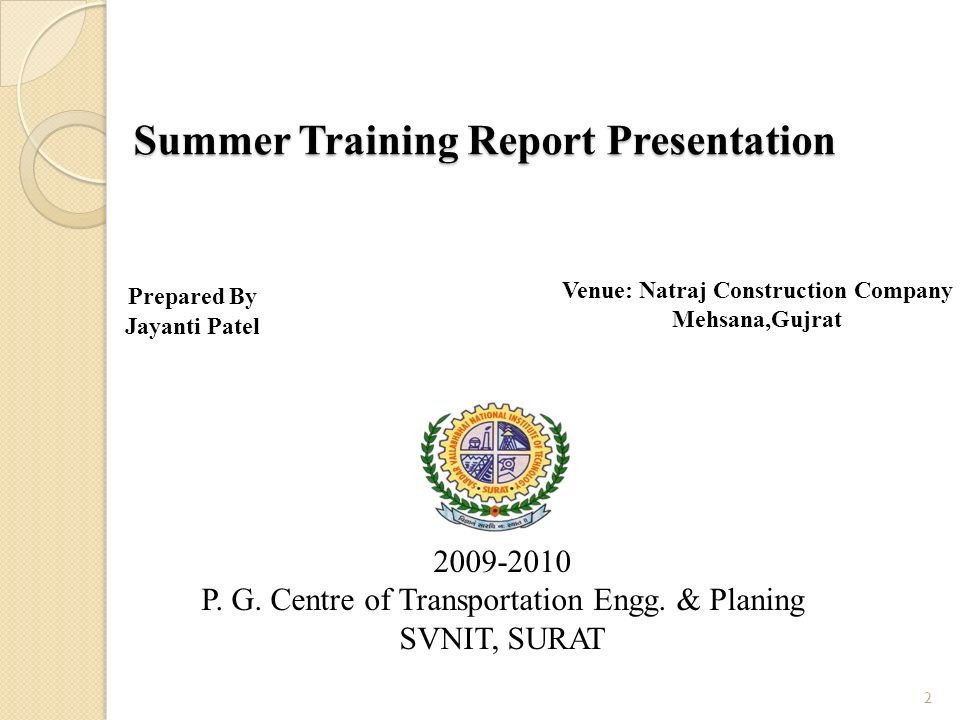 summer training report of construction company Download & upload all your mba projects of internship reports a report on youthnet, an ngo 124 marketing mix 118 builder 116 construction company 116 loan.