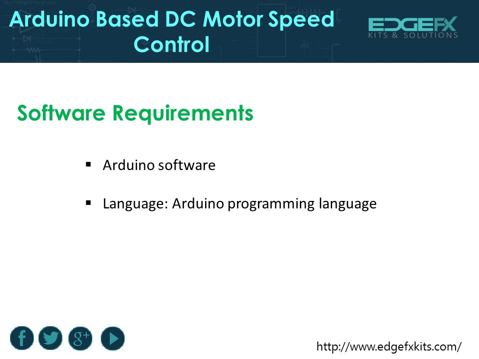 Arduino based dc motor speed control ppt video online