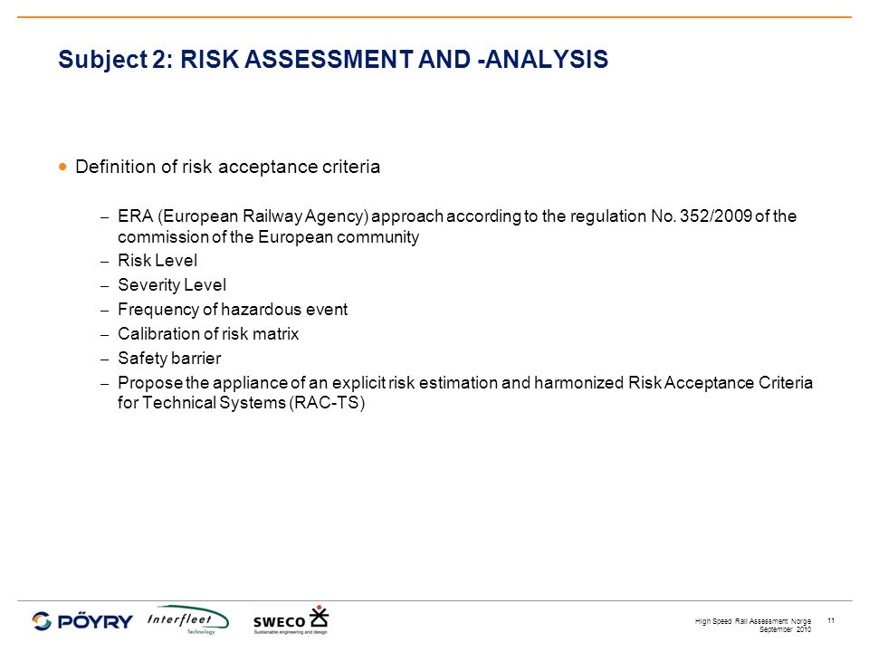 HIGH SPEED RAIL ASSESSMENT NORGE - ppt video online download