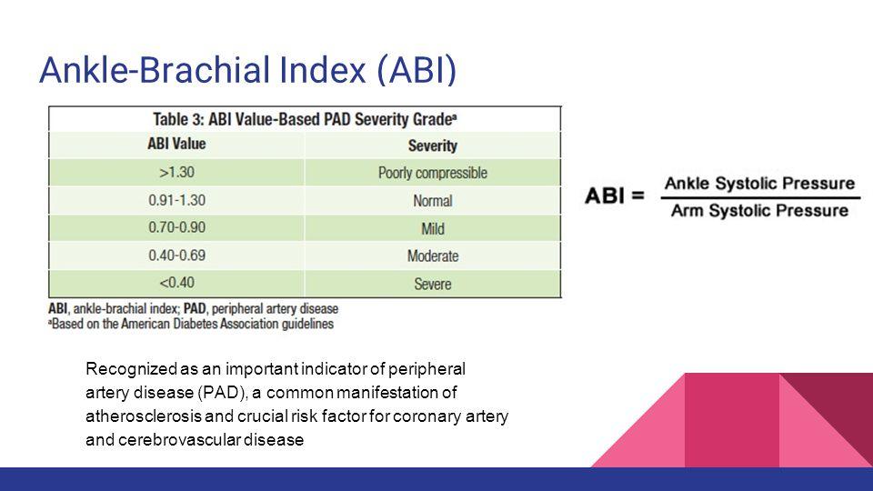 incidence of abnormal ankle brachial index in diabetic patients asymptomatic of arteriosclerotic blood pressure screening referral guidelines blood pressure screening guidelines 2016