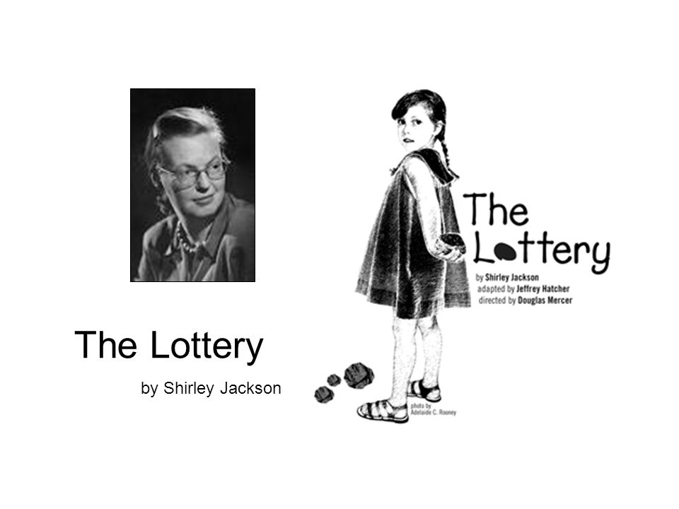 """the lottery shirley jackson evaluation Page 1 studysynccom lesson plan: the lottery objectives 1 engage students in shirley jackson's famous short story """"the lottery,"""" so that they are."""