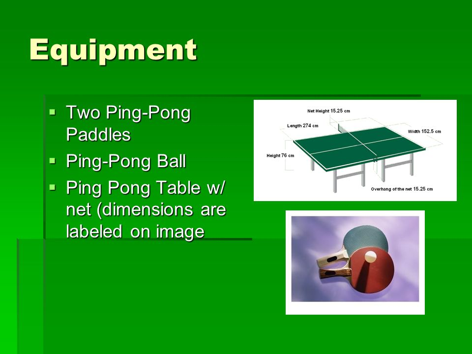 Ping Pong Table Tennis Ppt Video Online Download