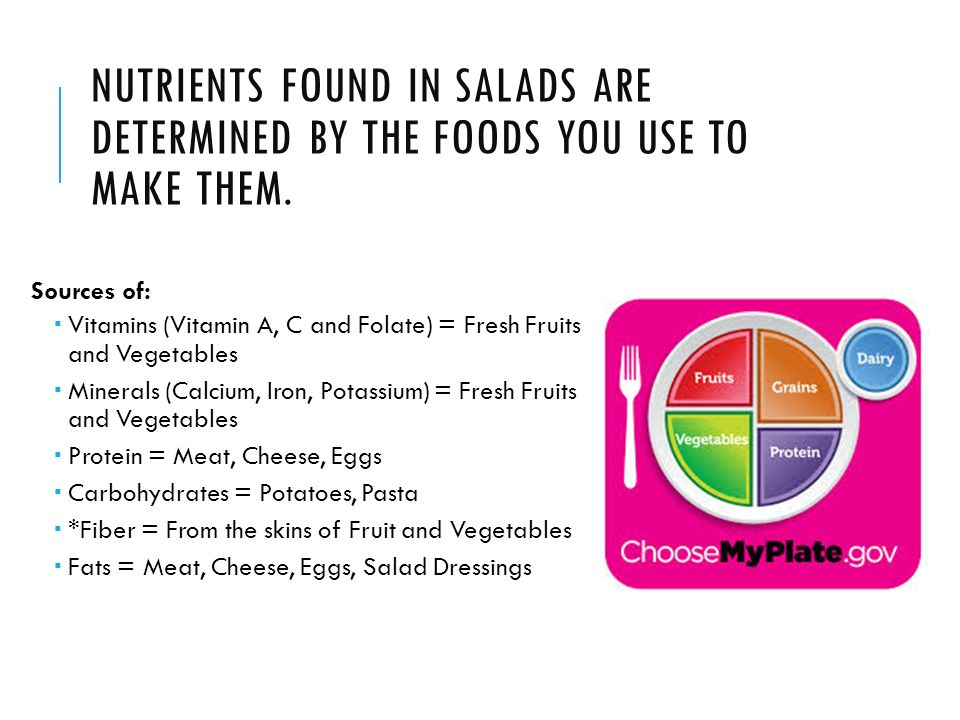 Making History With Vitamin C Powerpoint: Salads Foods Ppt Video Online Download