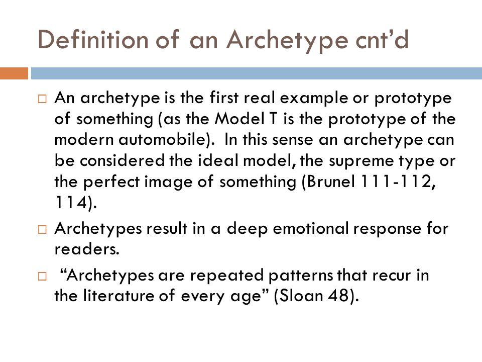Archetypes In Literature Ppt Video Online Download