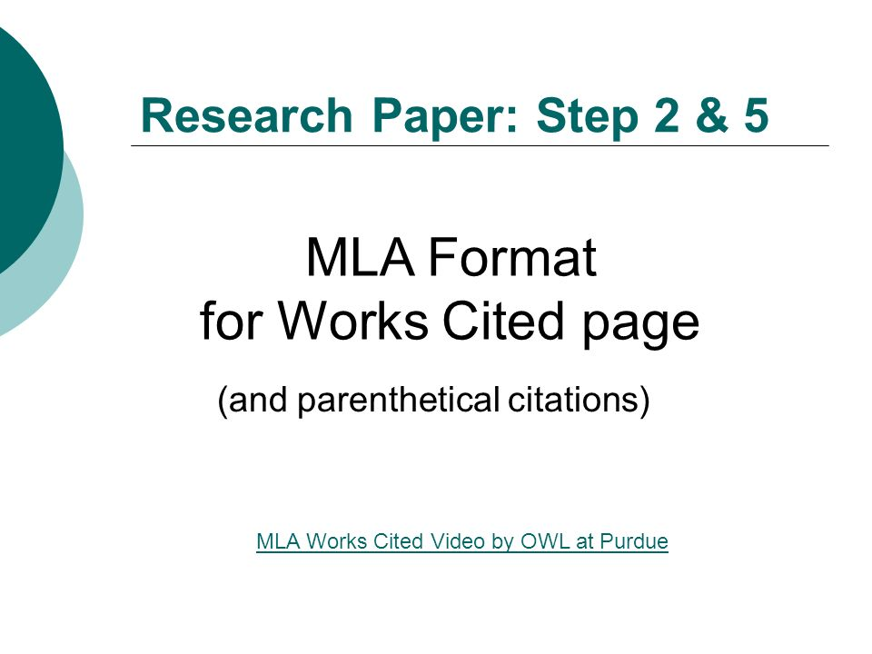 parenthetical documentation in research papers O formatting parenthetical citations and block quotes o citing sources   tertiary sources are not typically appropriate for research papers check with  your.
