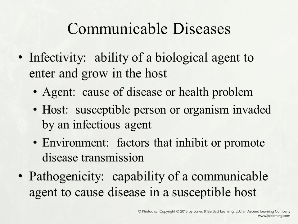 a susceptible individual who can harbor the disease The infectious agent can be either exogenous (ie, not normally found on or in the   that harbor infectious agents and often act to amplify the infectious agent)   the host can serve as a carrier, transferring bacteria to susceptible individuals.