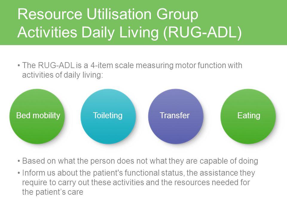 RUG-ADL & AKPS Assessment - ppt video online download