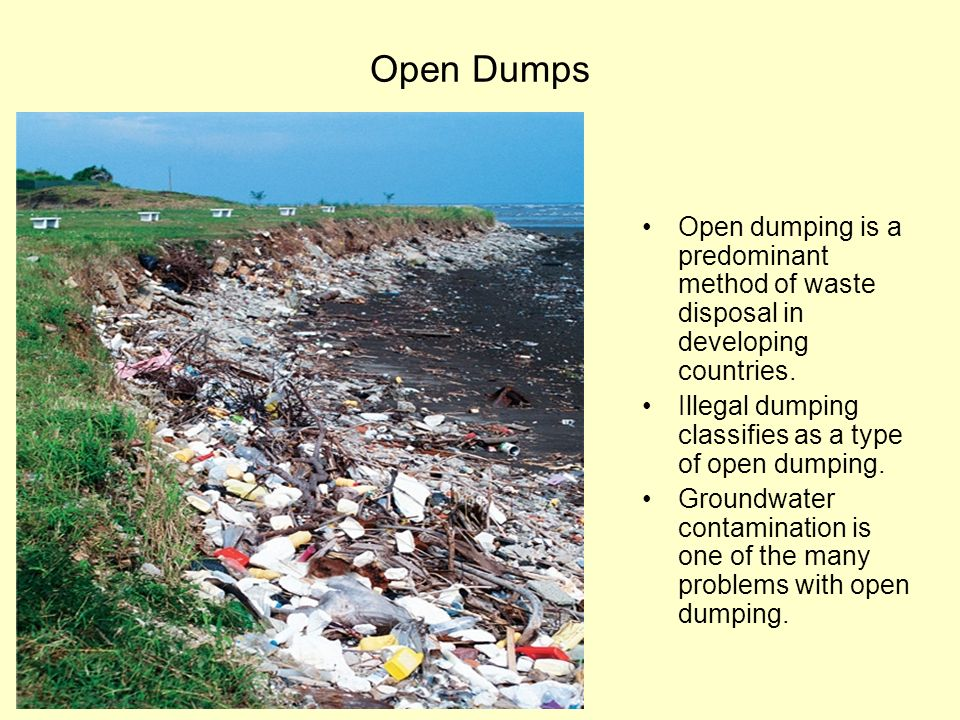 dumping of solid waste pdf