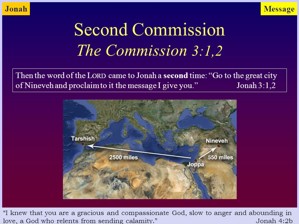 an understanding of the great anger of jonah Throughout jonah nineveh has been referred to as the great city now the formula phrase is broken in 3:3 with nineveh described as great to god, a hebrew idiom which means very important the simple idiomatic understanding of the phrase makes 3:3 read: nineveh, a very important city, required three days to visit it.