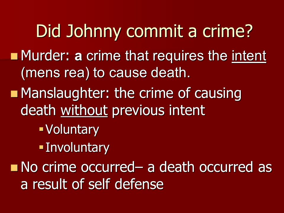 Liability Theories For Felony Murder -Agency v. Proximate Cause